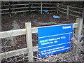TQ4061 : Sheep Barn Lane P.T.S. by Roger W Haworth