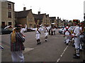 TL0798 : Wansford Main Street - Morris Dancers by tim