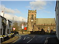 SJ5277 : St. Laurence & Ring O'Bells public house, Overton by Sue Adair