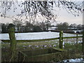 SP2780 : Farmland near Brook Farm by John Winterbottom