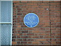 Photo of Frank Hornby blue plaque