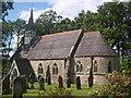 NY4577 : St Nicholas' Church, Nichol Forest by Richard Young