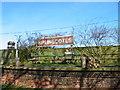 SE9243 : Railway Sign, Kiplingcotes Railway Station by Colin Westley