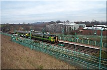 SK5270 : Langwith-Whaley Thorns Railway Station by Ann B