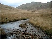 NS2894 : The Luss Water in Glen na Caorainn by Gordon Brown