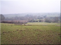 SO6149 : View of Stoke Lacy from Stoke hill by Bob Embleton