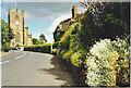 SJ5658 : Bunbury, Church and Village Street by Colin Smith