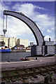 ST5872 : Steam crane, Bristol Docks by Chris Allen