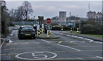 TL3910 : Toll Gate, Rye Road by Christine Matthews