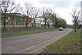 SK6303 : Downing Drive, Evington, Leicester by Kate Jewell