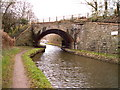 SO2613 : Skew railway bridge over  Monmouth and Brecon canal by nantcoly