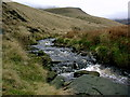 SK0694 : Shelf Brook by Stephen Burton