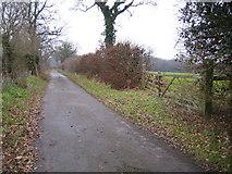 SP9201 : Chesham: Blind Lane by Nigel Cox