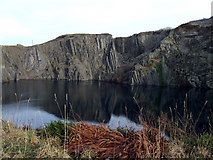 SH6369 : Bryn Hall Quarry by Nigel Williams