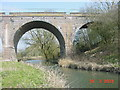 SP7209 : River Thame and railway viaduct looking north-east by Dennis Troughton