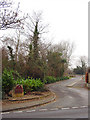 ST5678 : Entrance to Henbury Golf Course by Linda Bailey