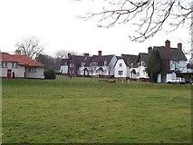 SS7195 : Llandarcy Village by Steve Rigg