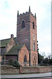 SO8995 : St. Bartholomew's Church, Penn by Geoff Pick