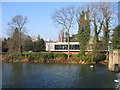 SP3265 : Restaurant in the Park, Jephson Gardens by David Stowell