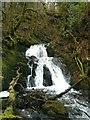 NN0620 : Waterfall on the Allt-an-Eireannaich by Patrick Mackie
