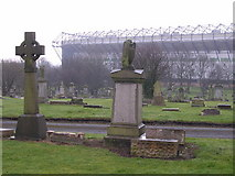 NS6264 : Eastern Necropolis, Gallowgate by Chris Upson
