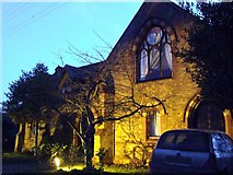 SJ5955 : A Floodlit Converted Church by Nigel Williams