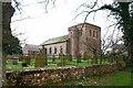 NY3745 : Raughton Head Church by Bob Jenkins