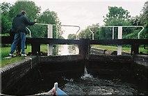 SU5666 : Old Heale's Lock by Pierre Terre