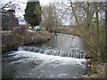 SP0859 : Weir in the Arrow by David Stowell