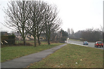 SJ3059 : Passing by on the Wrexham Road by David Long