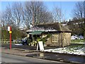 SE1422 : Florist's shop, Bramston Street, Rastrick by Humphrey Bolton