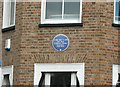 TQ1865 : Blue Plaque by Dennis Turner