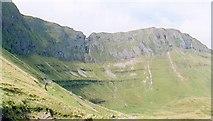 G7246 : Limestone cliffs, head of Gleniff. by Gordon Hatton