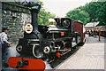 SH6541 : Rheilffordd Festiniog Railway Line by Ken Crosby