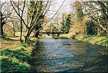 TQ4872 : River Cray near North Cray, Kent by Dr Neil Clifton