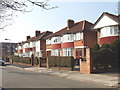 TQ2081 : Friary Road, Acton, eastern end by David Hawgood