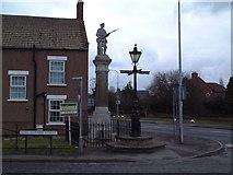 SE7807 : War Memorial, Belton by David Squire