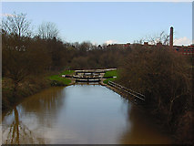 ST6569 : Keynsham Lock by Linda Bailey