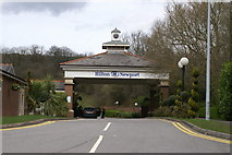 ST3689 : Hilton Hotel, Newport by Adrian and Janet Quantock