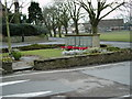 SP1489 : Castle Bromwich war memorial by Carl Baker