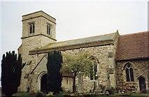 SP8328 : Drayton Parslow church by Angella Streluk