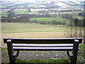 NT2740 : Viewpoint on Cardie Hill by Iain Thompson