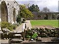 SU3802 : The cloister at Beaulieu Abbey by Jim Champion