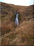 SN7968 : Waterfall in the Nant y Ffynnon near Claerddu by Rudi Winter