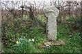 SX0662 : Roadside Celtic Cross by Tony Atkin