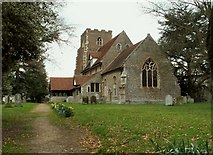 TL9933 : St. Peter's church, Boxted, Essex by Robert Edwards