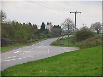 SK4208 : View south along B585 by Andrew Tatlow