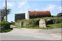 SW6935 : Farm Buildings near Carnmenellis by Tony Atkin