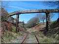 SH7040 : Leaky Aqueduct over disused railway by Barry Hunter