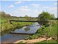 SP0863 : Footbridge over The Arrow by David Stowell